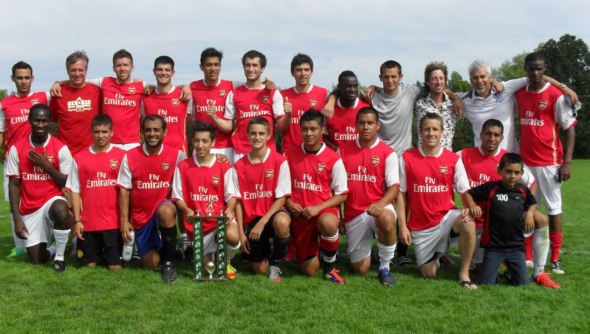 2013 Legacy Cup Champions